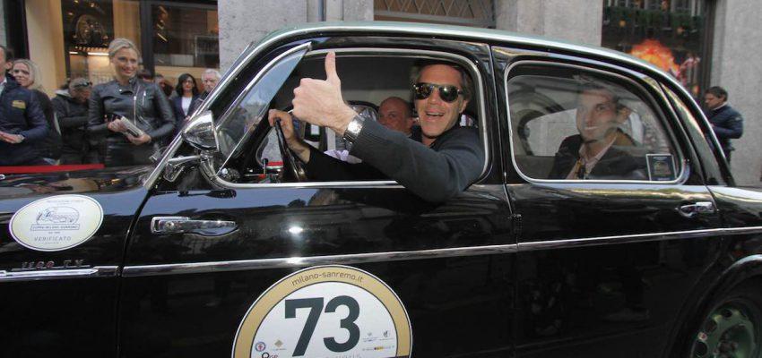 Alla Milano-Sanremo anche auto d'epoca da Reali