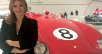 Silvia Nicolis in trasferta al Museo Enzo Ferrari