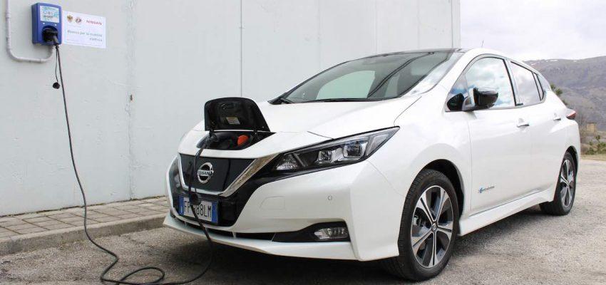 Nissan e Università dell'Aquila per la mobilità elettrica