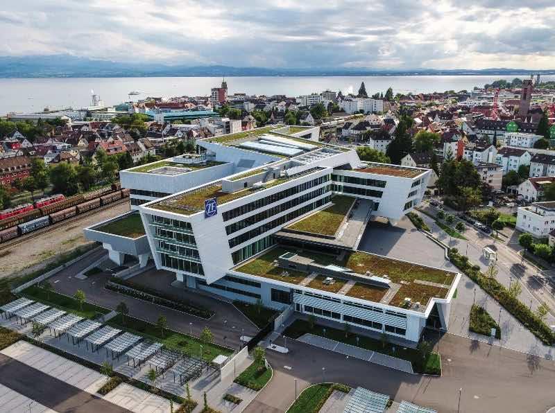 ZF Forum, Friedrichshafen, Aufnahmen mit Drohne, Inspire 2,dji