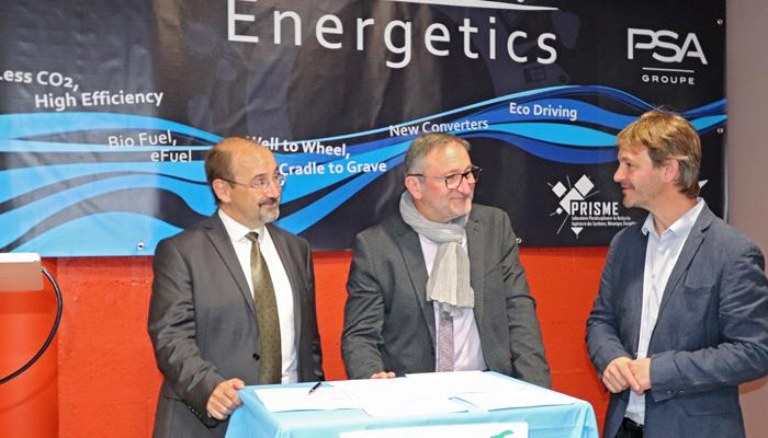 Groupe PSA e l'Università di Orléans creano una piattaforma per la sperimentazione delle energie del futuro