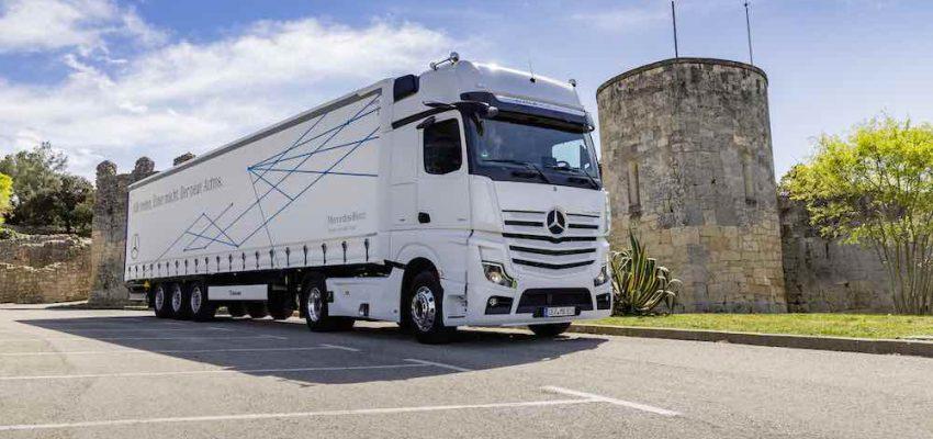 Mercedes Actros: sicuro, efficiente e connesso