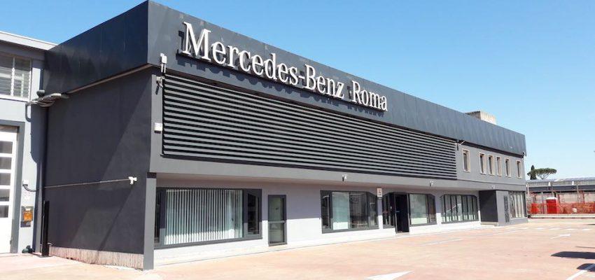 Mercedes: nuova sede Vans e Trucks a Roma