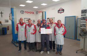 Toyota: il 13esimo T-TEP Skills Contest ad una scuola di Napoli