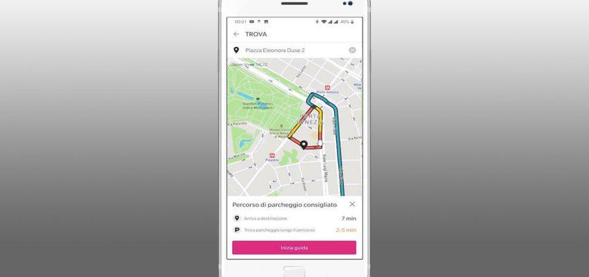 """""""Find &Park"""" è la app che semplifica la ricerca del parcheggio a Milano"""