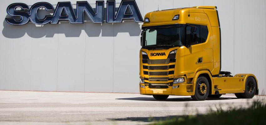 Scania V8 Anniversary: arriva l'edizione limitata