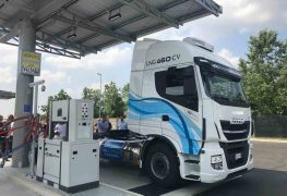 Stazione di servizio LNG: ad Agrate Brianza presente anche Iveco