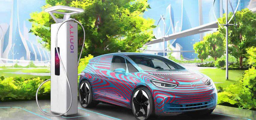 Volkswagen: 36.000 punti di ricarica per auto elettriche in Europa