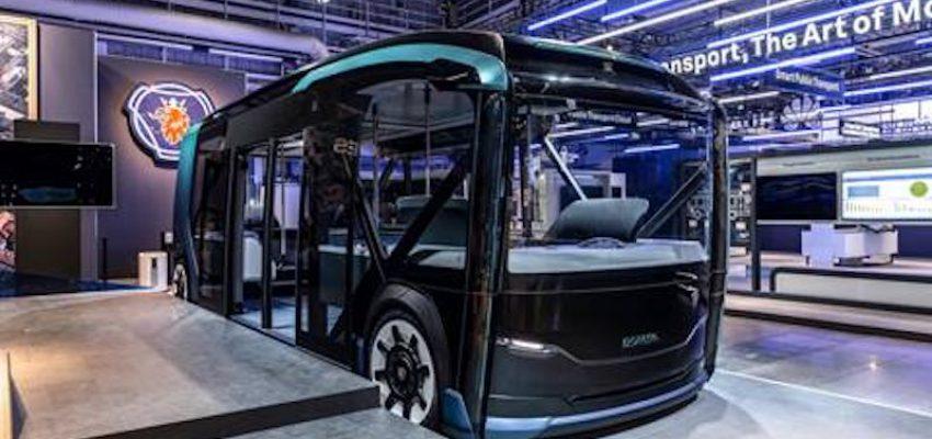 Scania NXT: concept per il trasporto in ambito urbano