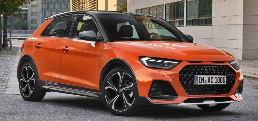 Audi A1 citycarver, crossover da città