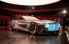 Bentley Exp 100 GT, il lusso che verrà