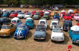 Il raduno del Fiat 500 Club di Garlenda, la passione non ha confini