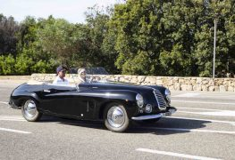 Museo Nicolis, show in Costa Smeralda con la sua Fiat 1100 E Vistotal