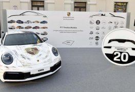 L'icona Porsche 911 interpretata dagli studenti del Naba di Milano