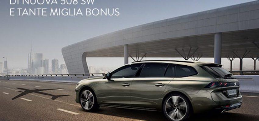 Partnership Peugeot-Alitalia: noleggio gratis e punti MilleMiglia