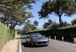 Pebble Beach, alla Car Week in Maserati GranCabrio MC