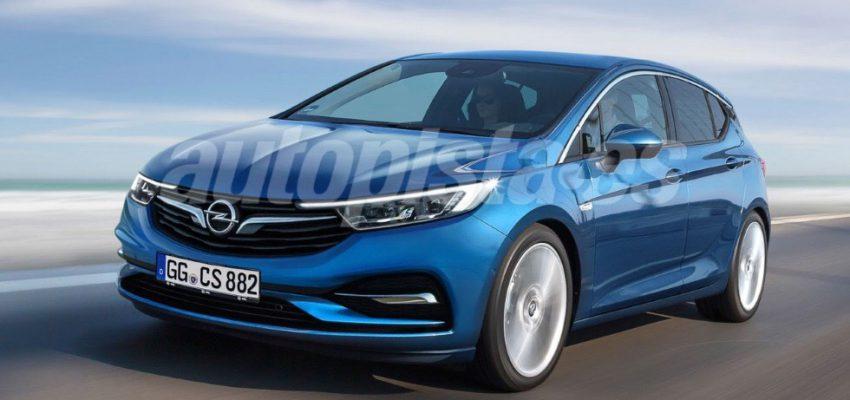 Opel Astra, aerodinamica da record
