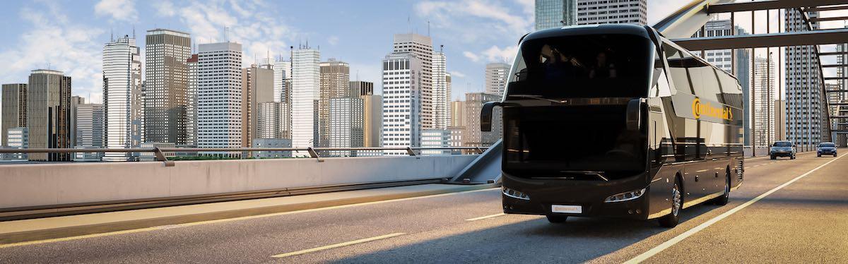 Continental Bus Tires Urban (CGI): PPT Title 16:9, Continental Bus-Reifen Urban (CGI): PPT Titel 16:9,
