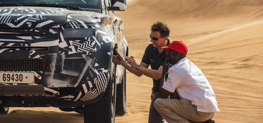 Land Rover Defender in anteprima per la Croce Rossa