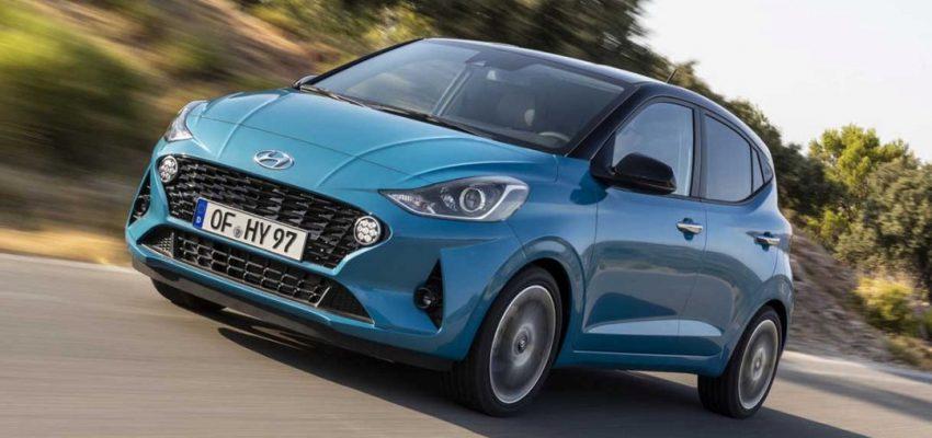 "Hyundai i10 è ""small"" e large dentro"