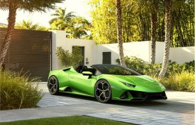 Lamborghini sfonda…