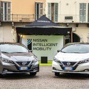 """La nuova Nissan Leaf e+ debutta alla """"1.000 Miglia Green"""""""