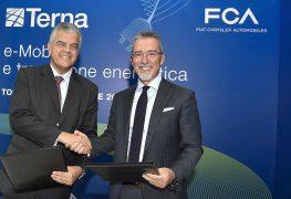 FCA: con Terna per la mobilità sostenibile