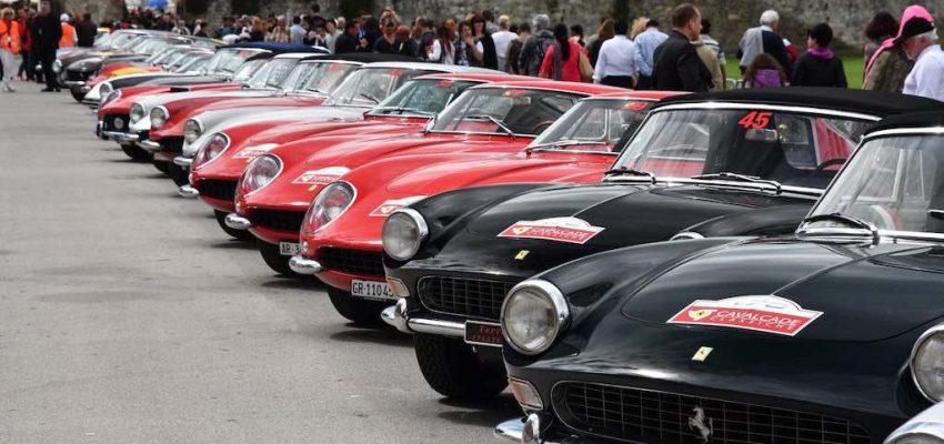 Ferrari: le classiche brillano a Roma