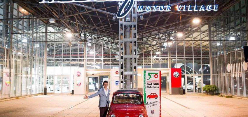 Fiat 500: festeggia i 62 anni a Torino