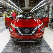 Nissan Juke, parte la produzione