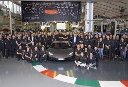 Per Lamborghini Huracàn un nuovo traguardo