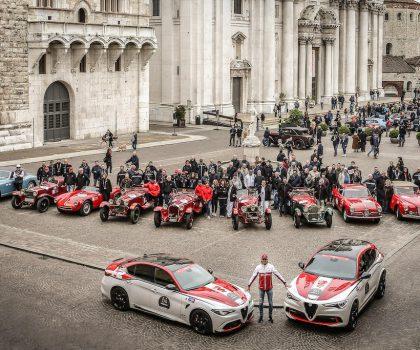 1000 Miglia 2020: Alfa Romeo sponsor