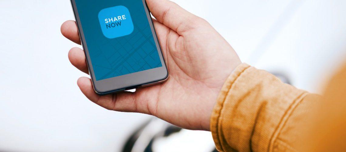 Share Now: nuova app e sito internet