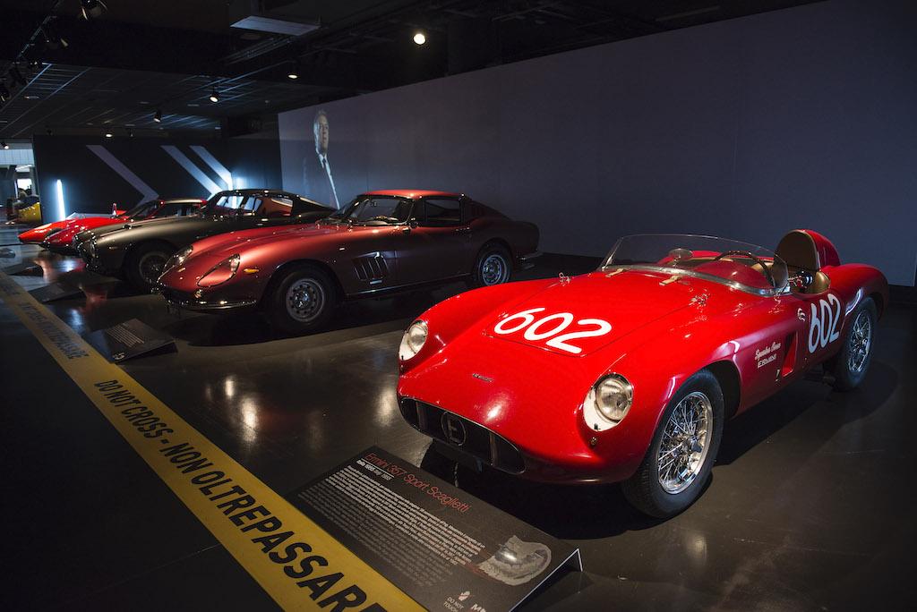 Mostra in omaggio a Sergio Scaglietti presso il Museo Nazionel dell'Automobile di Torino