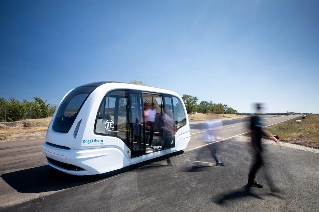 ZF Friedrichshafen AG #MobilityLifeBalance Vehicle Motion Control Global Tech Day, GTD 2019