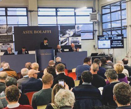 Aste Bolaffi: battuta la Panda di Gianni Agnelli