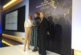 Energica: premio UK-Italy Businessboost 2019