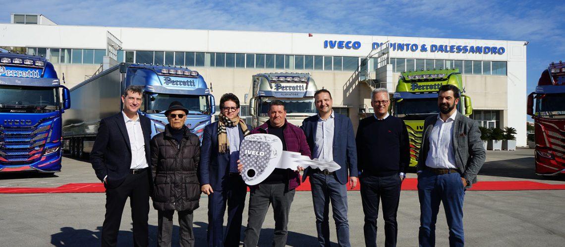 Iveco Your Truck Your Way: l'ambassador è Michele Perrotti