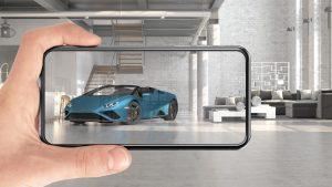 Lamborghini Huracan EVO RWD Spyder in AR