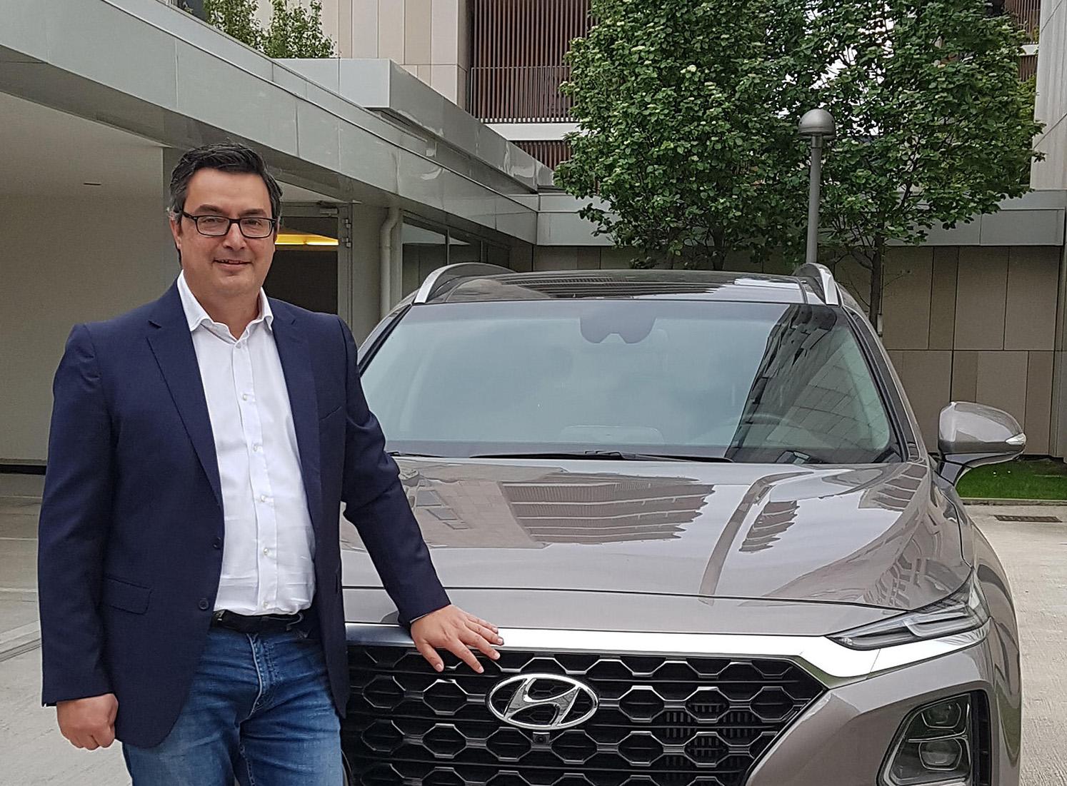 Pier Paolo Greco, direttore marketing e comunicazione di Hyundai Italia