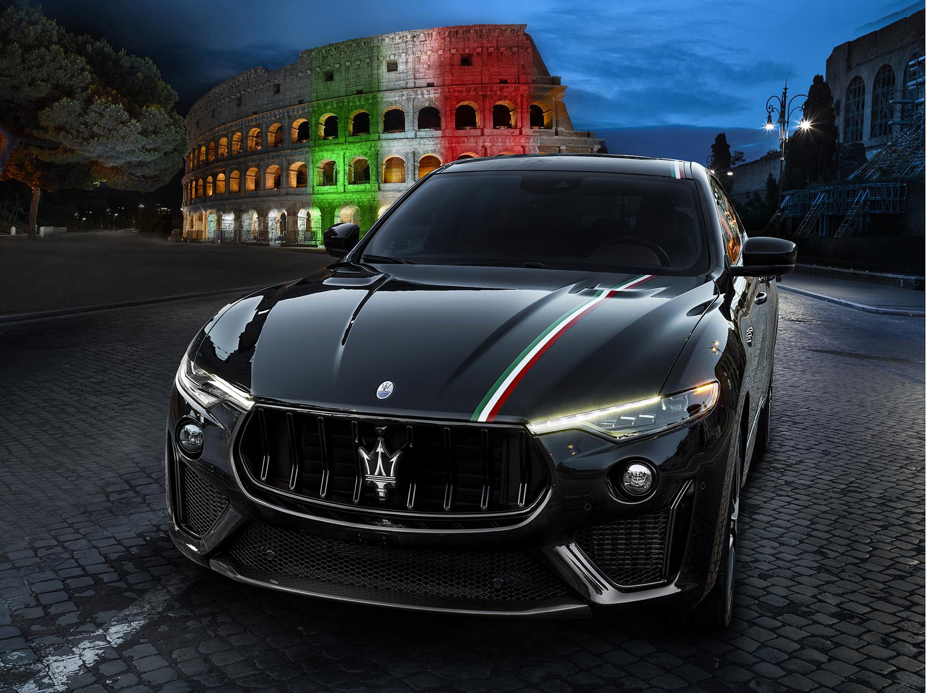 Maserati LevanteTrofeoLiveryItalyRome