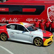 Alfa Romeo: prima Giulia Quadrifoglio da competizione