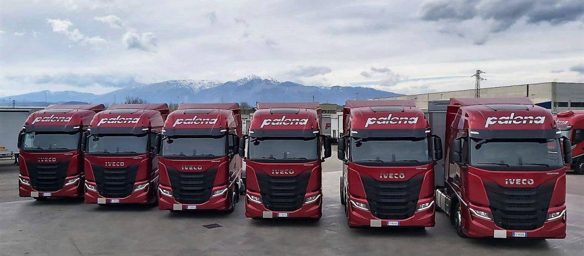 Iveco: S-Way scelti e consegnati a Palena Autotrasporti