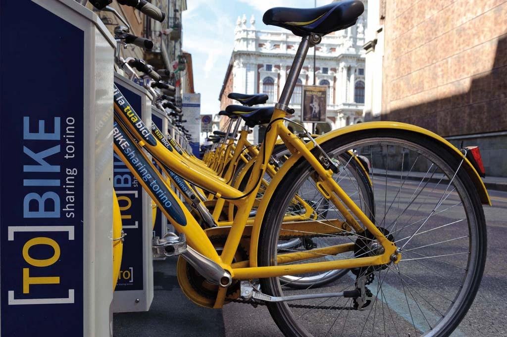 Torino, TO BIKE sharing - via Principe Amedeo