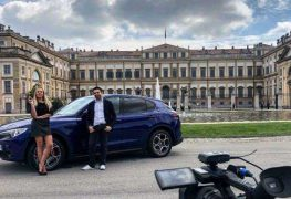 Alfa Romeo Stelvio, con Elena Giaveri e Luca Talotta