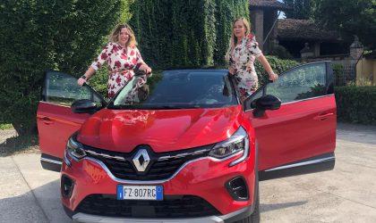 Renault Captur, con Elena Giaveri e Annamaria Ferrari