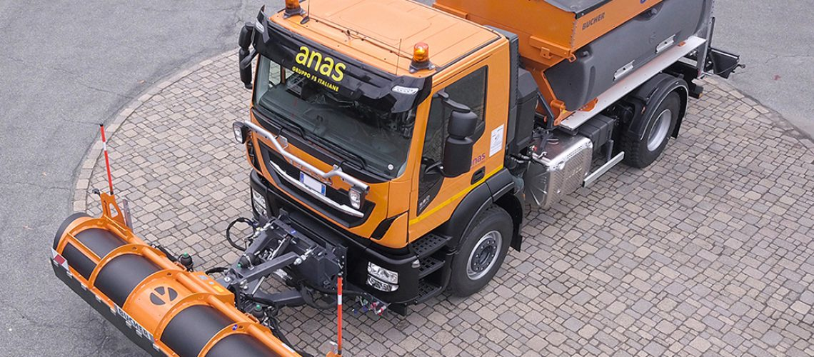 Iveco: veicoli per manutenzione invernale consegnati ad Anas