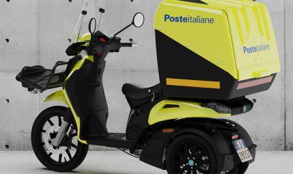 Piaggio: 5.000 tre ruote a Poste Italiane