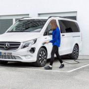 Mercedes eVito: shuttle a emissioni zero
