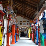 Museo Fisogni: stazioni di servizio come opere d'arte